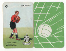 JSCARDS LUTON TOWN CARD - PEPYS GOAL CARD GAME 1960'S?