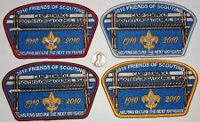 SOUTH FLORIDA COUNCIL 265 OA 2010 100TH 4-PATCH $500 DONATION SET ONLY 50 MADE