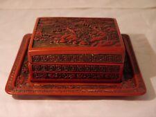 CHINOIS laque bijou Box