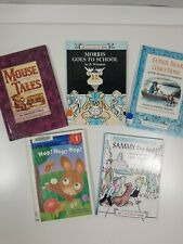 lot of 5 hardcover beginning to read -level 1 picture books-mixed lot