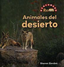 Animales del Desierto (Rebus Animals in the Wild) (Spanish Edition)-ExLibrary