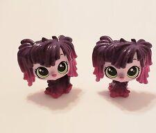 Set Of (2) Authentic Littlest Pet Shop Lps #141 Stella Komondor Pink Glitter