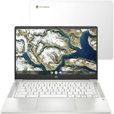 HP Chromebook 14a-na0007na 14 FHD Laptop Celeron N4020 4GB 64GB Branco 2R171EA # P