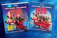 NEW VINCE VAUGHN FRED CLAUS COMEDY HOLIDAY 3 DISC BLU RAY MOVIE & SLIPCOVER 2007