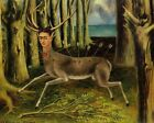 Print - The Wounded Deer, 1946 by Frida Kahlo