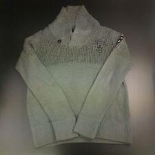 G-Star Raw Mens  Pullover 2XL  Grey Acrylic Wool Collared