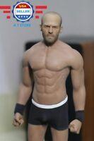 1/6 Jason Statham Head Sculpt w/ PHICEN M33 Seamless Muscle Male Body