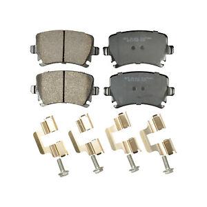 REAR Ceramic Disc Brake Pad Hardware For Volkswagen Passat VW Jetta Tiguan 1108