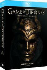 A Game of Thrones HBO TV Show Blu Ray Complete Season 1 2 3 4 5 GoT 1-5