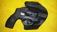 HOLSTER BLACK KYDEX SMITH & WESSON S&W AIRWEIGHT MODEL 442 38 Special