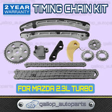 Timing Chain Kit For Mazda 3 6 CX-7 2.3L MPS TURBO L3K9 with Gears