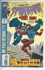 Web of Spider-Man #119 F (7.0) 1994 1st APP KAINE- Venom