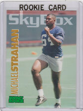 Michael Strahan 1993 Skybox Impact GIANTS ROOKIE Football RC CARD New York NFL