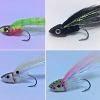 4 Bass Fishing Flies  Pole Dancer Poppers