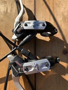 Shimano XT BL-M775 Hydraulic Disc Brakes Excellent Condition w Mounting Hardware