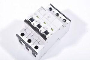 SIEMENS 5SY43, Leitungsschutzschalter, Charakteristik B|C|D, Nennstrom 1 bis 50A