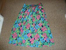 Hippy Polyester 1980s Vintage Skirts for Women