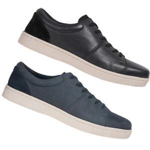 Clarks Kitna Vibe Herren Nubuk Leder Sneaker Schuhe 261481467 261481477 mix