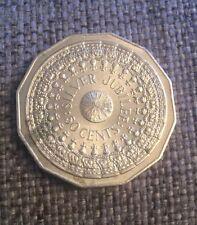1977 AUSTRALIAN 50 CENT COIN - QUEEN'S SILVER JUBILEE