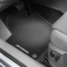 Volkswagen Original Premium Textilfußmatten Schwarz für Sharan