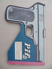 """Rare gadget du PIF-GADGET n° 31 """" Le PISTOFLON """" - Septembre 1969"""