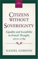 Citizens without Sovereignty (Princeton Legacy Library)