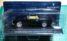 MASERATI 100 YEARS COLLECTION 18 - 2000 GRAN TURISMO SPYDER 1955 - 1/43 DIE CAST