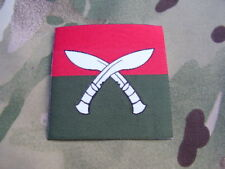 British Army Gurkha Training Team Nepal ID TRF Combat Shirt/Jacket Patch/Badge