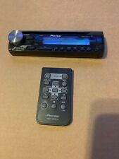 Pioneer Deh-X3910Bt Faceplate And Remote