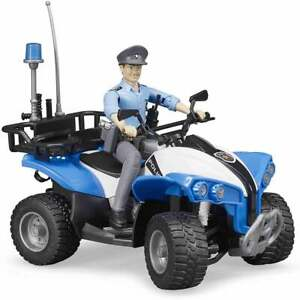 Bruder -  Police Quad with Policeman  1:16  63010