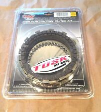Honda XR600R 1985–2000 XR650L 1993–2017 Tusk Clutch Steel & Friction Plates