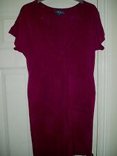Ladies E-vie Top / Mini Dress Pink Size 8 Euro 36