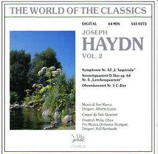 Joseph Haydn/the world of classics vol. 2 * NEW CD * NOUVEAU *