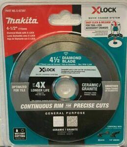 "3  x  Makita E-07191 4-1/2"" Segmented Diamond Blade for Masonry 1 Day Ship"