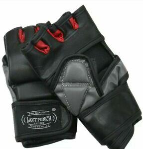 Last Punch Grappling Heavy Bag Gloves Boxing Training Gloves L size Eva Padding