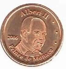 Monaco 2006 probe-pattern-essai - 2 eurocent - Prins Albert