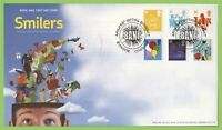 G.B. 2006 Smilers set on Royal Mail u/a First Day Cover, Bangor