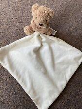 Matks And Spencer Bear Comforter Blankie VGC G2