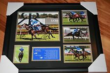 NEW!! WINX HORSE RACING MEMORABILIA SIGNED FRAME LIMITED; 17 IN A ROW!!