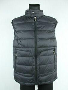 Mustang BNWT Black High Neck Sleeveless Zip Up Men Puffer Bodywarmer Size M
