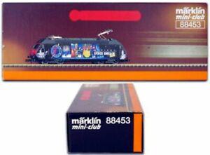MARKLIN Z SCALE 88453 (SBB) Class 460 Electric Engine SPACE DREAMS Orig Box - C8