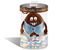 NEW-WHIFFER SNIFFERS-COCOA YOLKO-CHOCOLATE SCENTED EASTER EGG-BACKPACK/ KEY CLIP