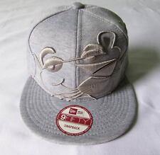 NEW ERA CAP HAT 9FIFTY SNAPBACK THE PINK PANTHER COMICS GRAY FLEECE FACE