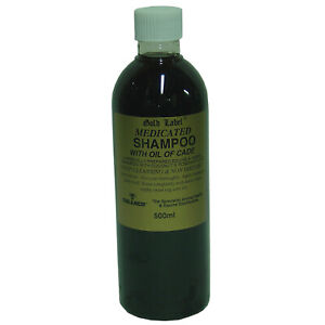 GOLD LABEL MEDICATED SHAMPOO WITH OIL OF CADE