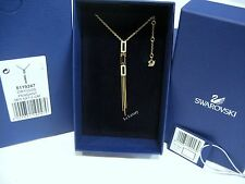 Swarovski Cubist Pendant Gold-plated Clear crystal Authentic MIB 5119247