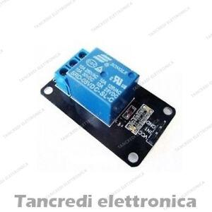Scheda relè 1 canale modulo relay board channel 5v 220V 10A (Arduino-Compatibile