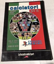 calciatori 1974-75 Sticker Album -Figurine panini