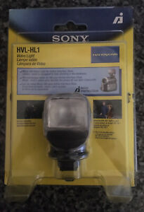 Unopened box Sony HVLHL1 3W Video Light for Compatible Sony Camcorders (HVL-HL1)