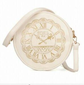 Alice in Wonderland Shoulder Crossbody Bags Clock Lolita Purse Wallet Women