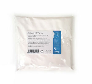 Cream of Tartar 500g - For Baking High Quality Pure Food Grade Powder
